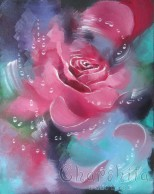 "painting ""Rose 3"""