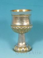 Посребрена и позлатена чаша с орнаменти 2
