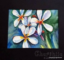 """Картина """"Акварел - Цветя"""" 2"""