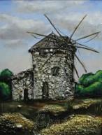 """Картина """"Вятърна мелница"""""""