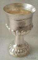 Посребрена чаша с орнаменти 1