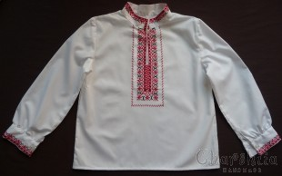 Top for little boys with Bulgarian embroidery