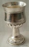 Посребрена чаша с орнаменти 2