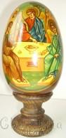 Рисувани икони върху дървени яйца 4