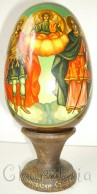 Рисувани икони върху дървени яйца 7