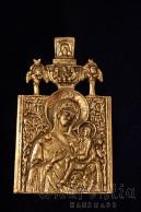 Месингова икона образ на ''Света Богородица''