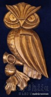 "Woodcarving ""Owl"""