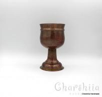 Медна чаша за вино