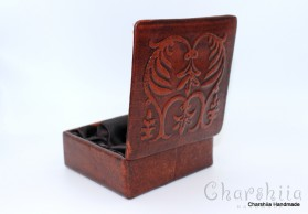Jewelry Box, genuine leather