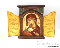 Icon chapel Virgin Mary