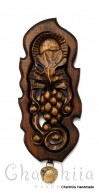 """Woodcarving """"Bunch of grapes''"""