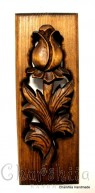 """Woodcarving """"Rose"""" 3"""