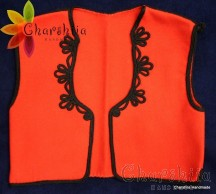Children's vest for Bulgarian national costume
