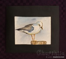 Painting ''Aquarelle Seagull''