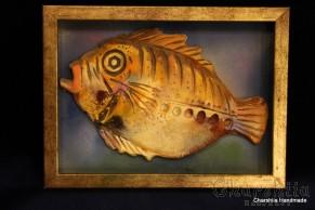 """Картина ''Керамична риба"""" 5"""