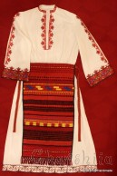 Bulgarian folk costume - Strandja women's folk costume