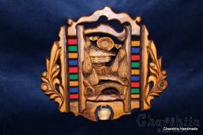 "Woodcarving ""Bulgarian house"" 3"