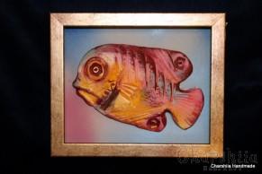 """Картина ''Керамична риба"""" 6"""
