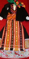 Old Bulgarian folk costume