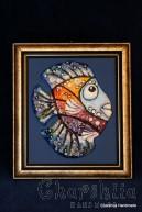 """Painting ''Ceramic fish"""" 7"""