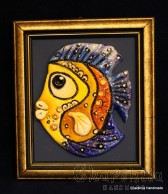 "Painting ''Ceramic fish"" 8"