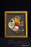 "Painting ''Ceramic fish"" 9"