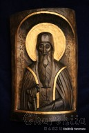 Woodcarving - Icon of St. John the Baptist of the Lord
