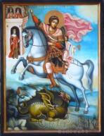 икона образ на Свети Великомъченик Георги