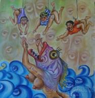 """Приказна картина """"Море от мисли"""""""