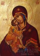 Икона на ''Богородица Умиление-Елеуса''