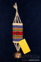 Hand made wallhanging with a bell