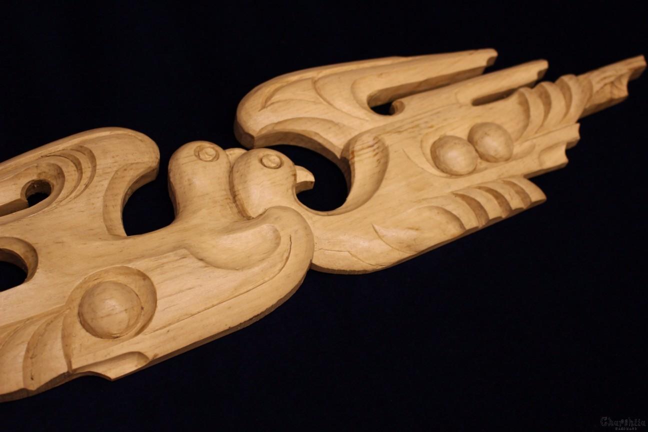 Дърворезба ''Птици''