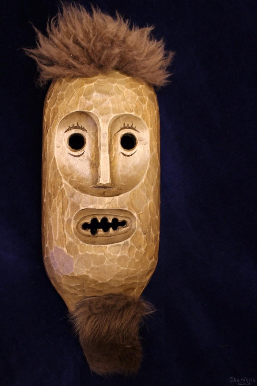 Дърворезба ''Маска'' 2