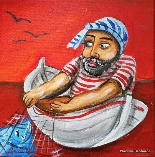 """Картина """"Рибар"""" 5"""