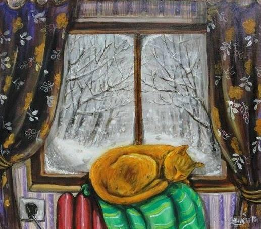 """Картина """"Пухкав сън"""""""