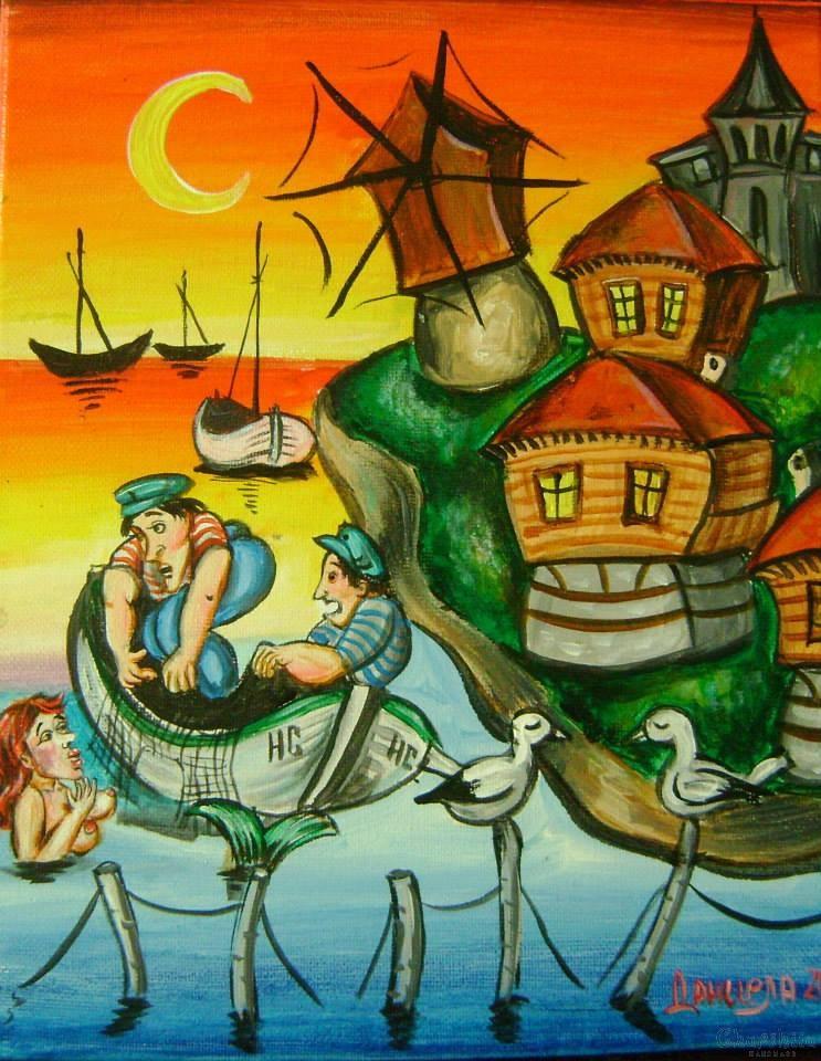 """Картина """"Морски желания"""""""