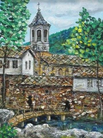 """Картина """"Мост към вечността"""""""