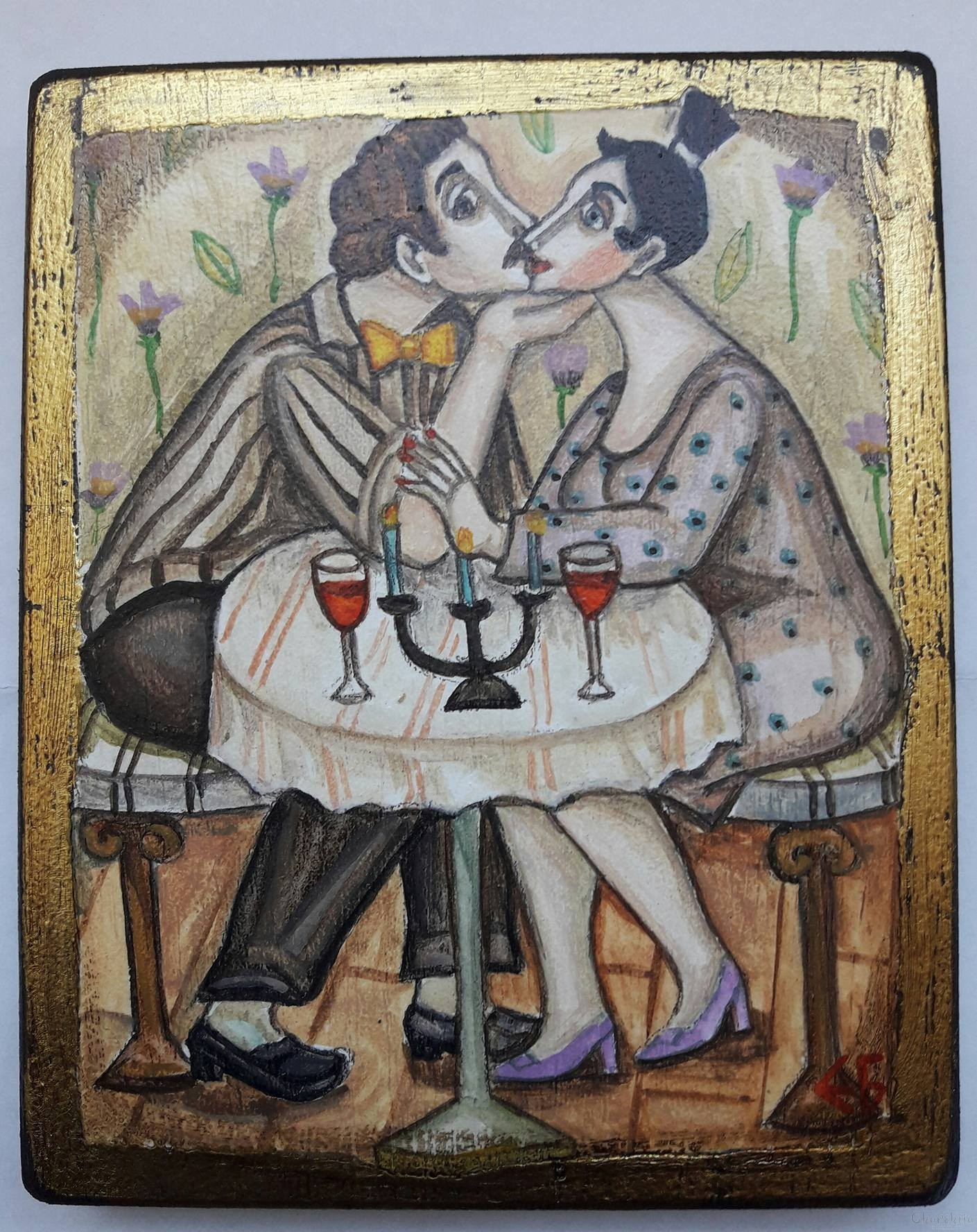 "Картина ""Любов и целувки 1"""