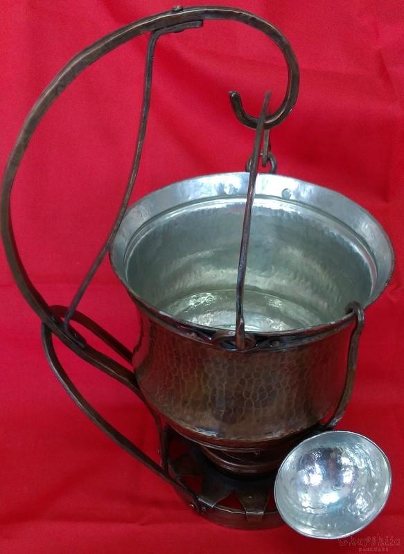 Меден съд за претопляне на течности