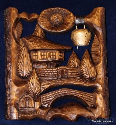 Дърворезба ''Българска къща 2''