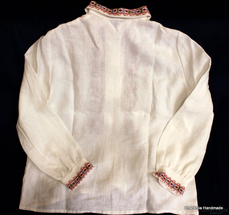 Дамска блуза с българска шевица