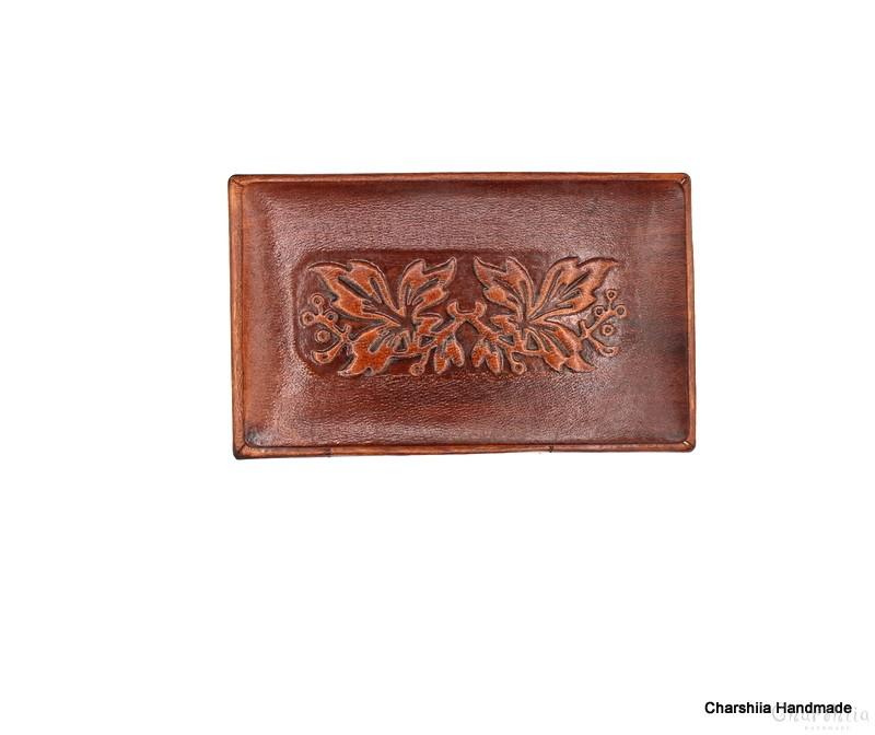 Кутия за пури, ръчно изработен от естествена кожа  handmade, genuine leather