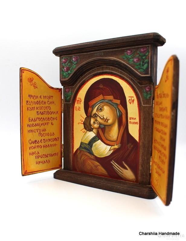 Икона параклис, образ на Света Богородица