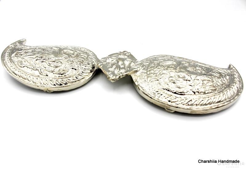 Дамски метални пафти (чапрази) за колан