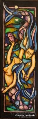 """Картина """"Нимфи в цветен танц"""""""