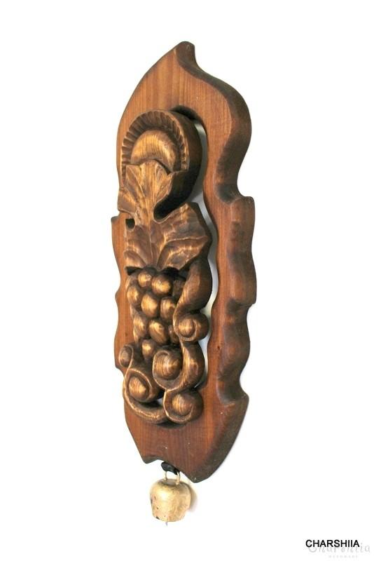 Дърворезба ''Грозд със чан'' 1