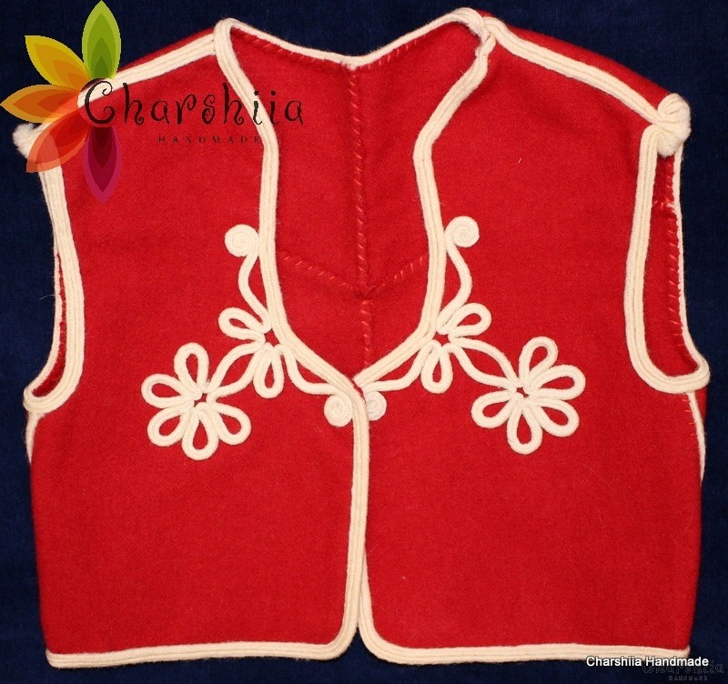 Детски елек за български национален костюм
