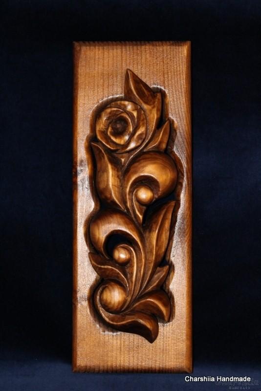 Дърворезба ''Роза'' 2