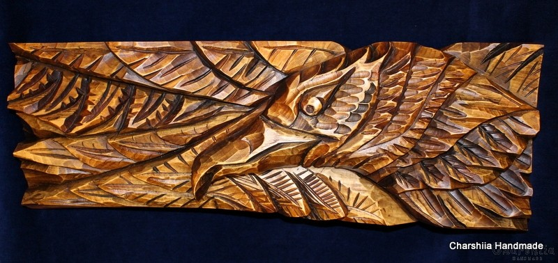 "Woodcarving ""Еagle"""