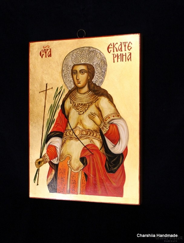 Икона образ на Света Екатерина